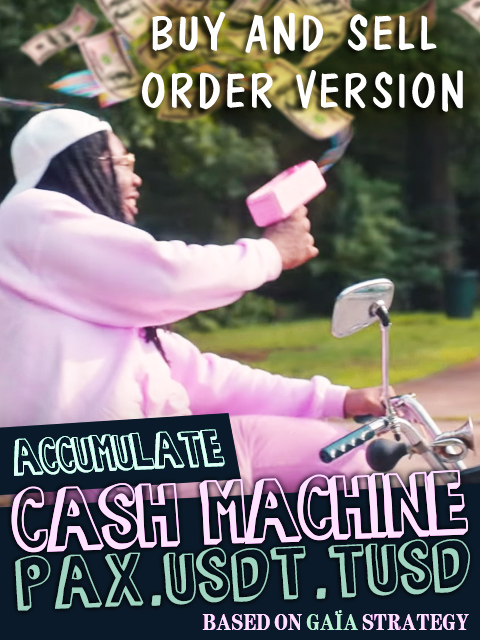 CASH MACHINE ORDER MODE Kryll strategy poster