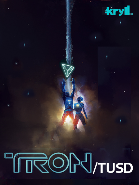 TRON V4 Kryll strategy poster