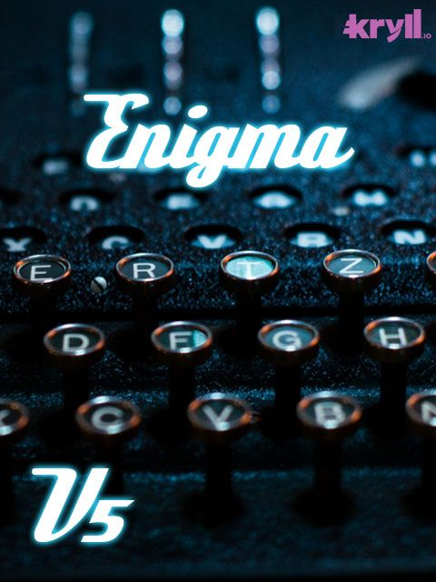 Enigma V5 Kryll strategy poster