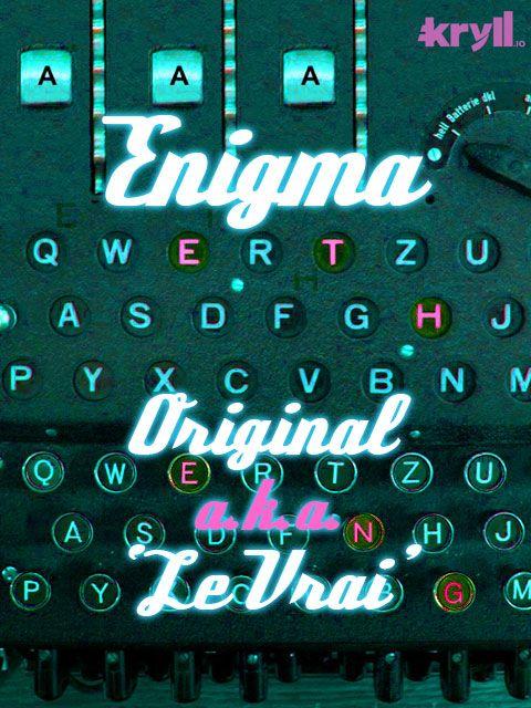 Enigma Original Kryll strategy poster