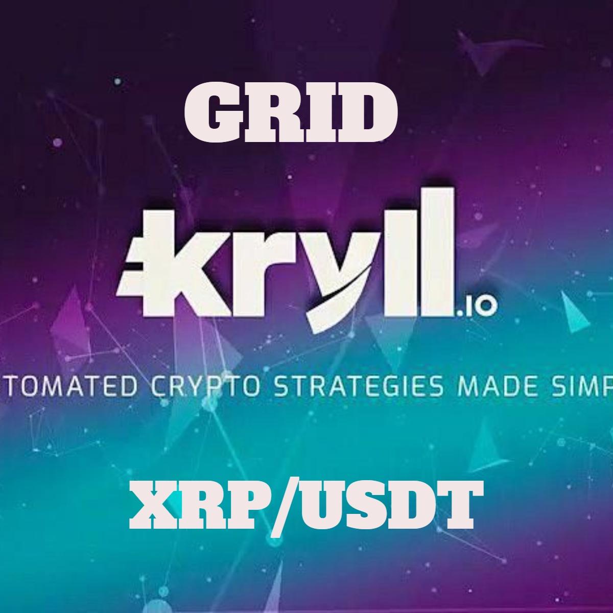 GRID XRP/USDT Kryll strategy poster