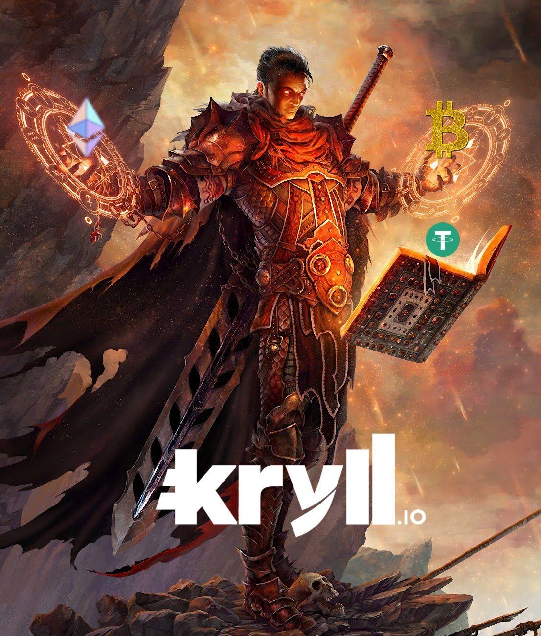 gladiator aggressive version Kryll strategy poster