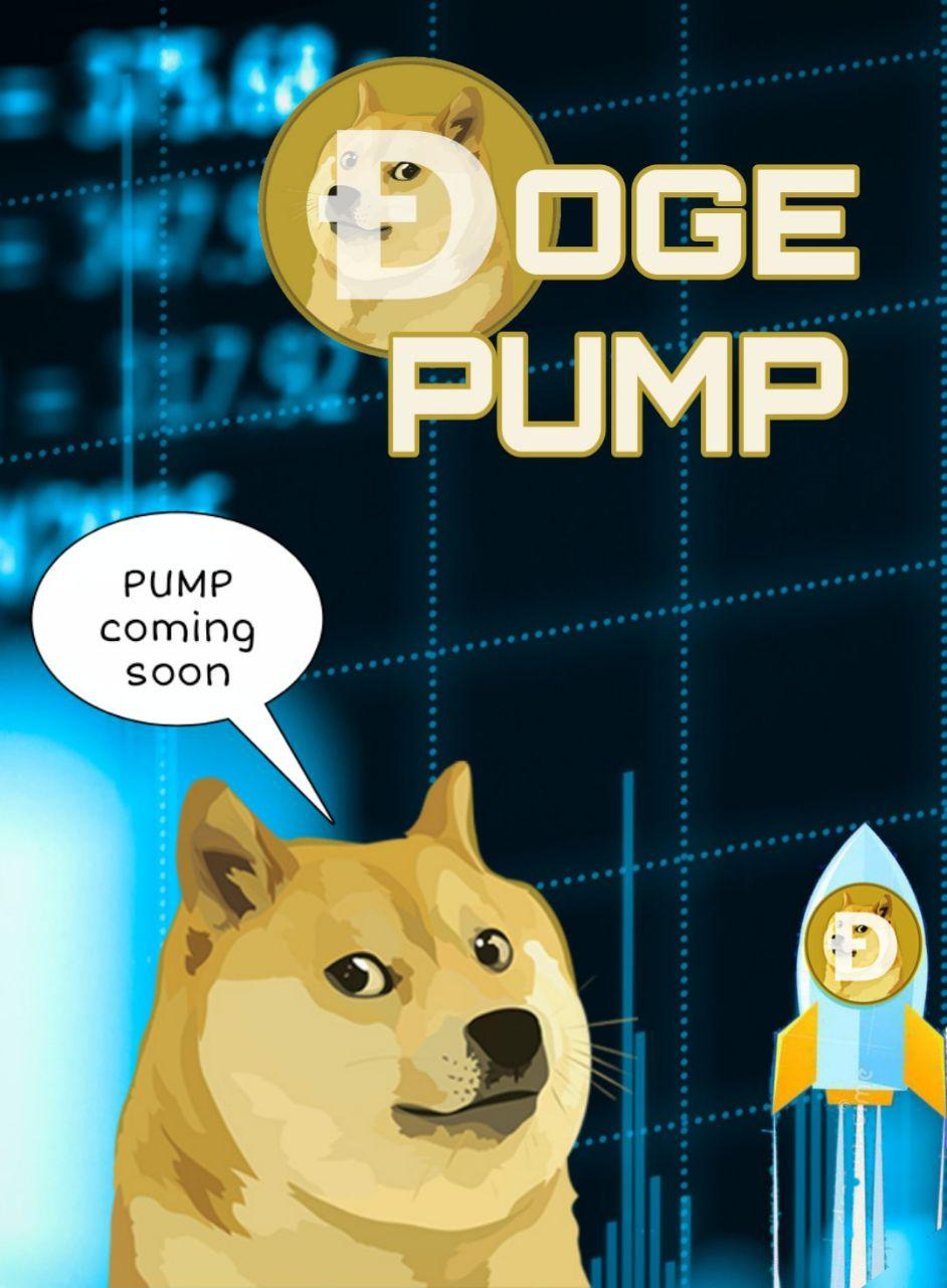 DOGE PUMP Kryll strategy poster