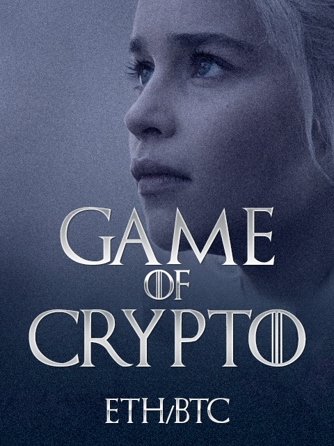 Game of Crypto ETH/BTC Kryll strategy poster