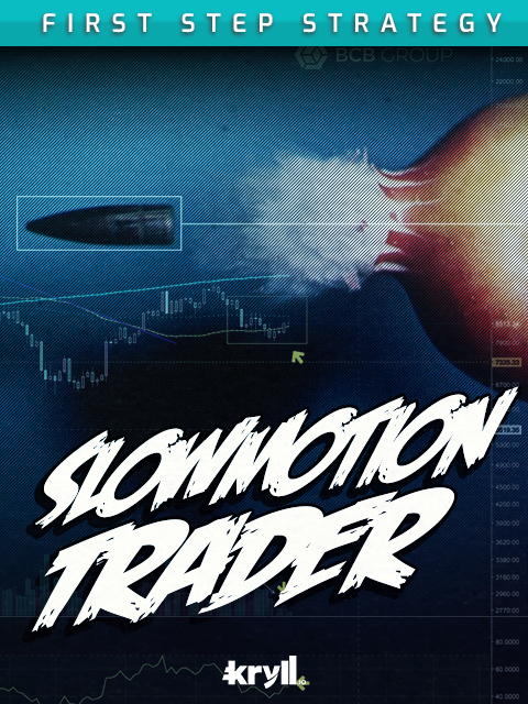 Slow motion trader Kryll strategy poster