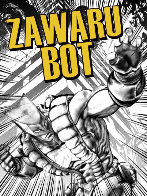 ZA WARU bot  Kryll strategy poster