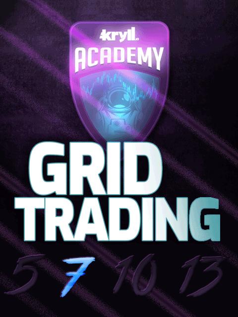 Kryll Academy #3 - Grid Trading 7 Kryll strategy poster