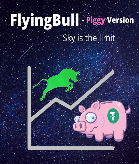 FlyingBull - Piggy Version Kryll strategy poster