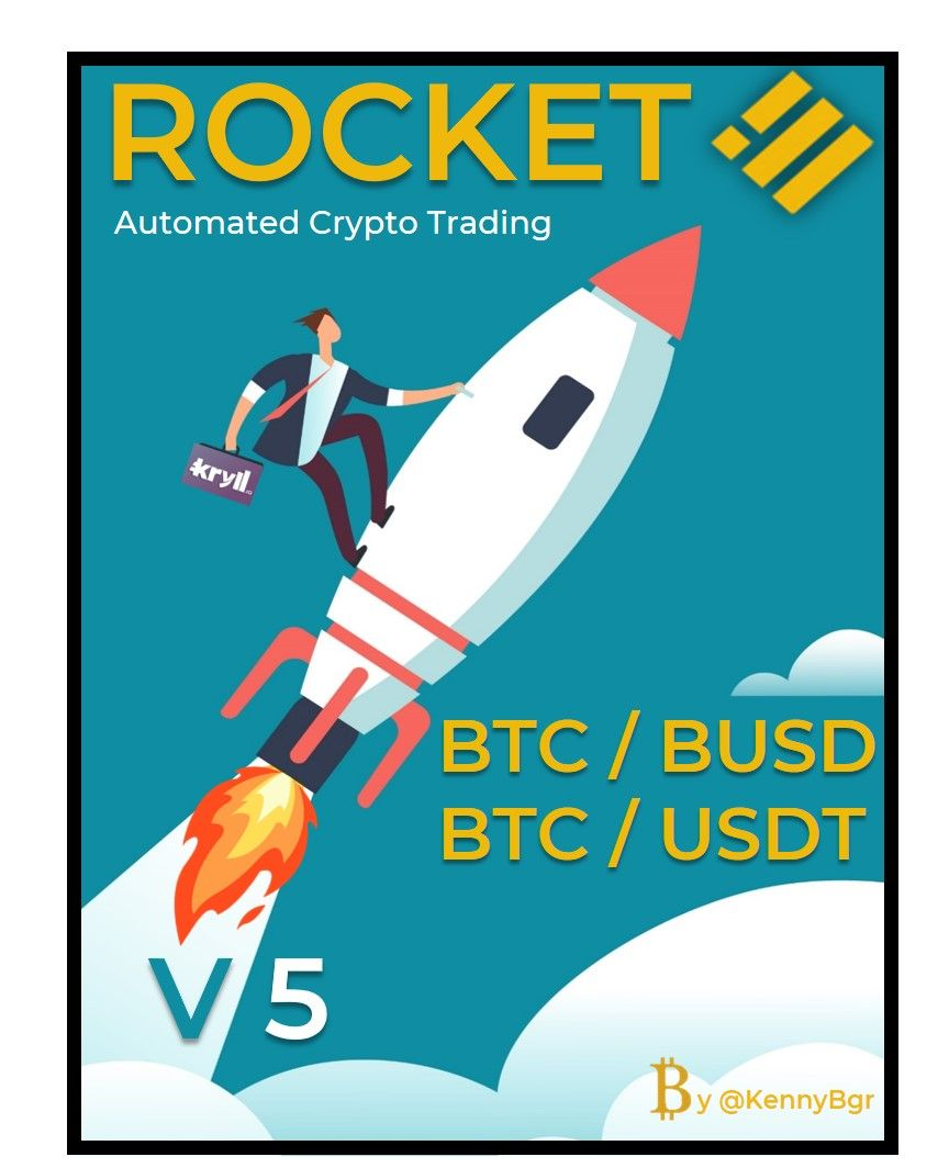 🚀  Rocket Bot - V5 🚀 Kryll strategy poster