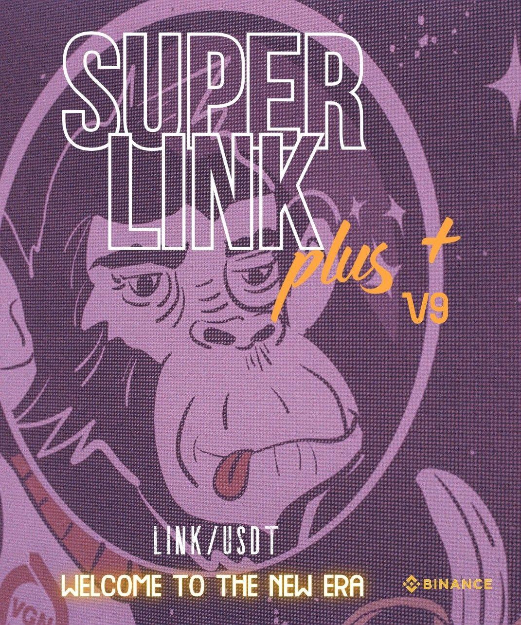 🤖 SUPERLINK PLUS V9  (old version)🤖 Kryll strategy poster