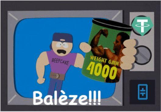 Balèze Thetacoin RANGE Kryll strategy poster